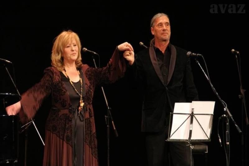 Meri Cetinić, Goran Karan i Hari Rončević na jubilarnom koncertu Kamenčića